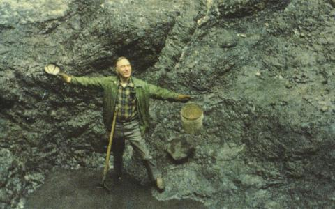 1984 in der Big Nugget Mine