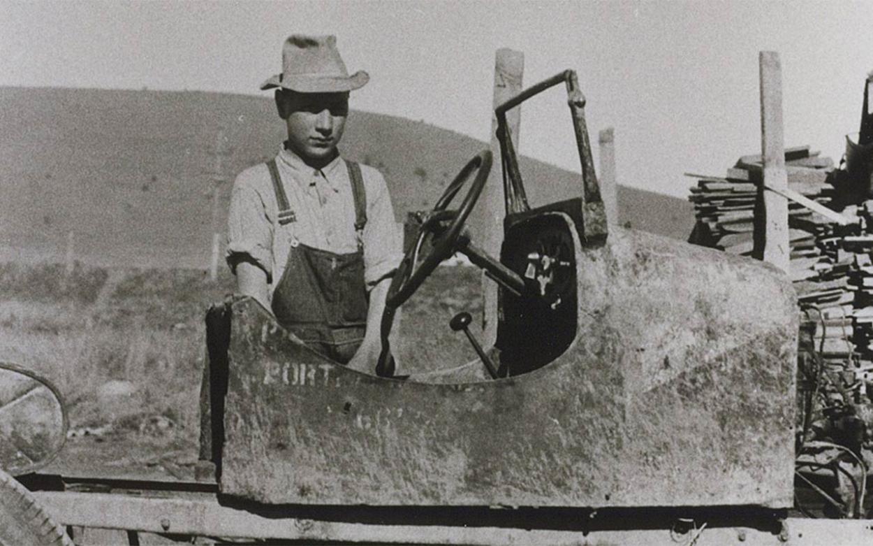 1935: Das erste Auto von Opa John