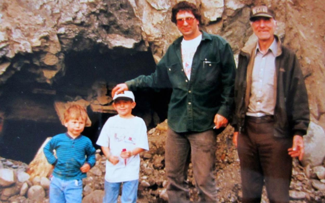 Drei Generationen Familie Schnabel