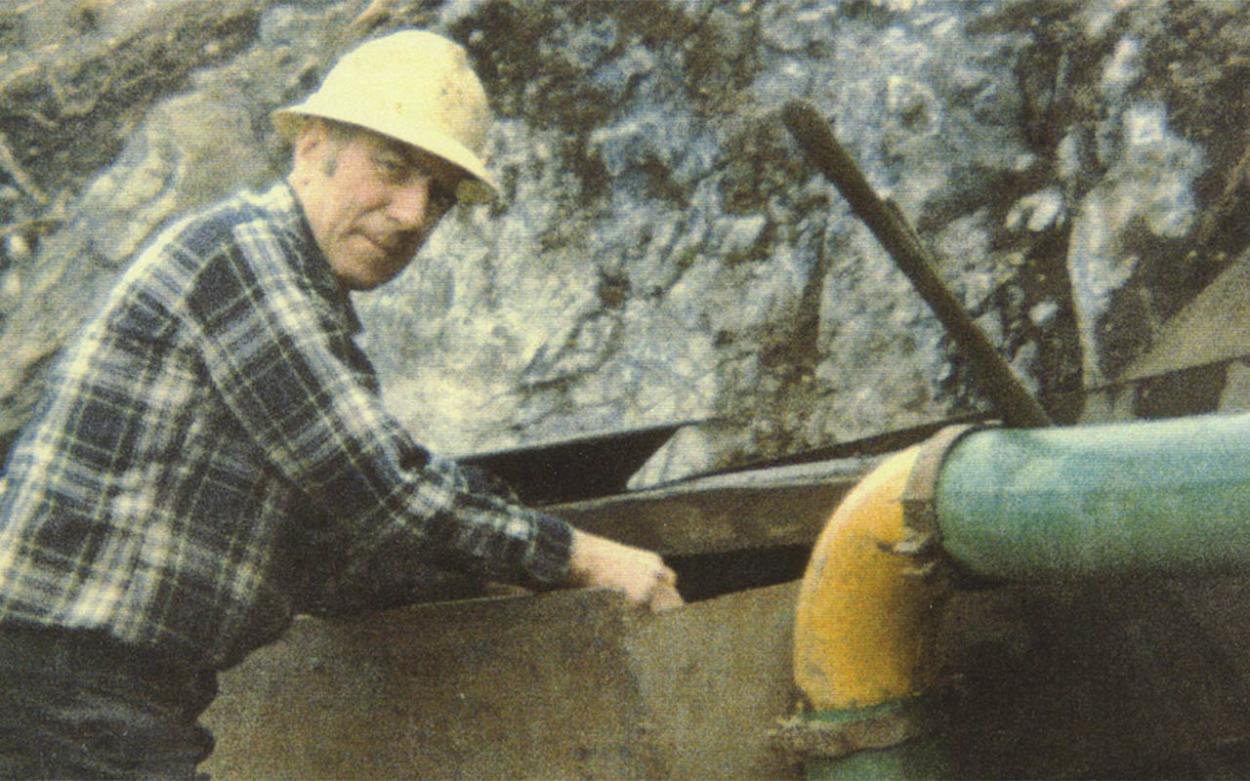 1990: Arbeit im Dreck