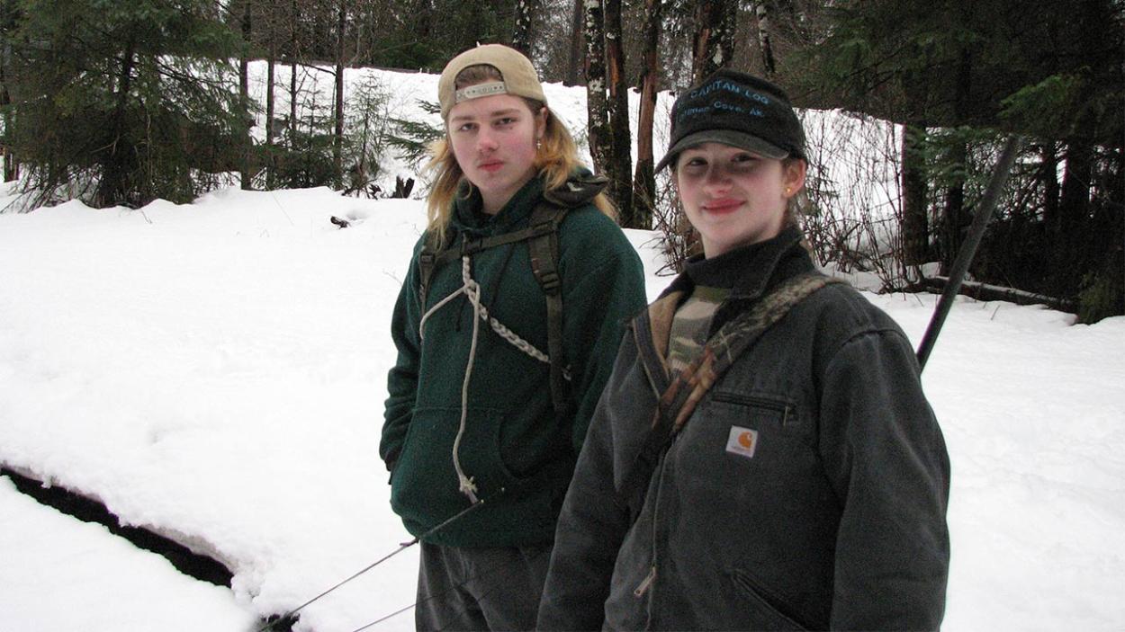 Alaskan Bush People: Noah und Birdy