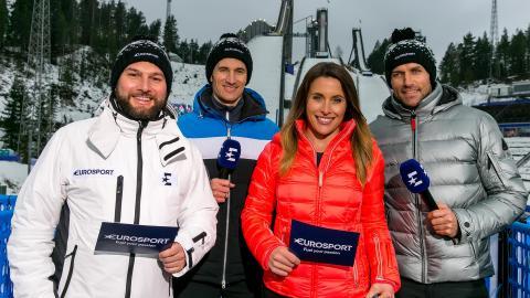 Die Olympischen Winterspiele auf Eurosport und TLC