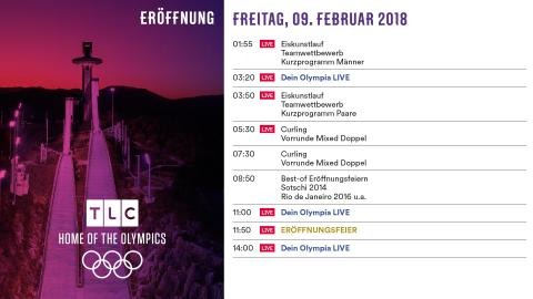Olympia Programm: Freitag 9. Februar